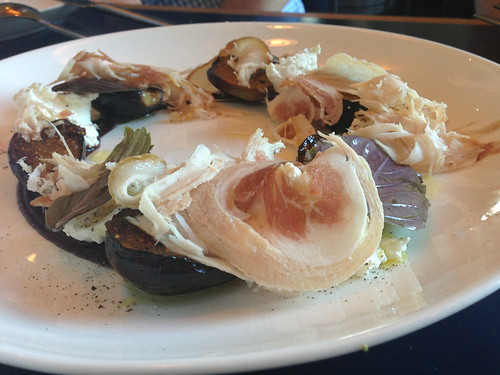Charred Figs, Ricotta and Porchetta @ Superba Snack Bar