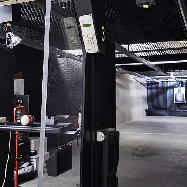 Indoor Shooting Range In The Basement. 13300 River Glades