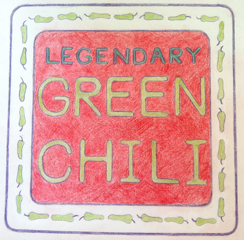 Legendary Green Chili (Illustration as of Sept. 8, 2013) by randubnick