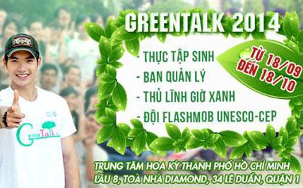 Tuyển TNV Green Talk 2014