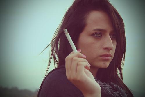 Cigarette!