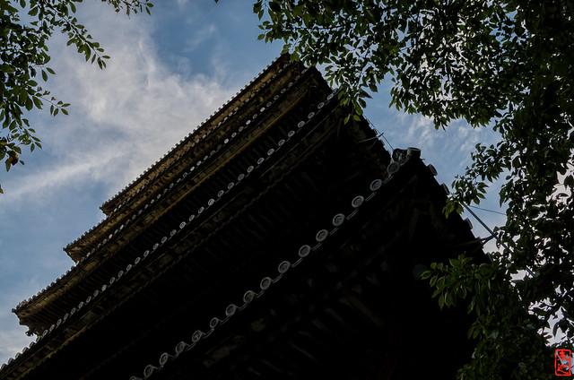「仰瞰図」 法観寺 - 京都