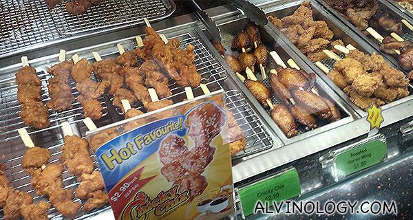 Chicken skewer options