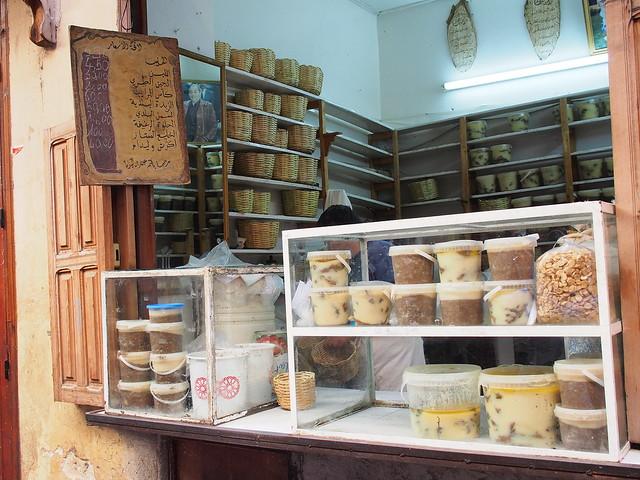 FES古城的傳統食品店