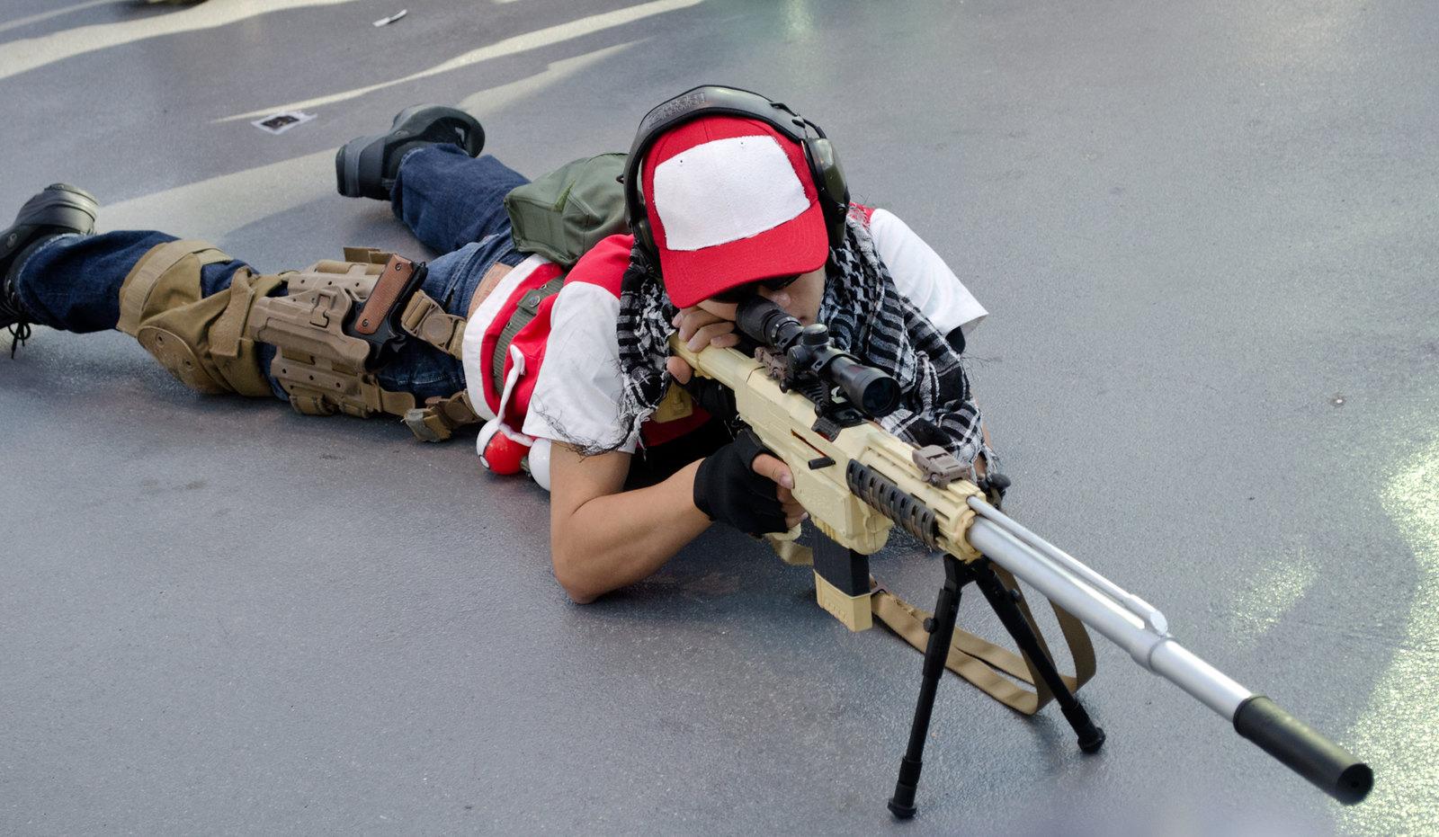 NYCC Ash Sniper Cosplay