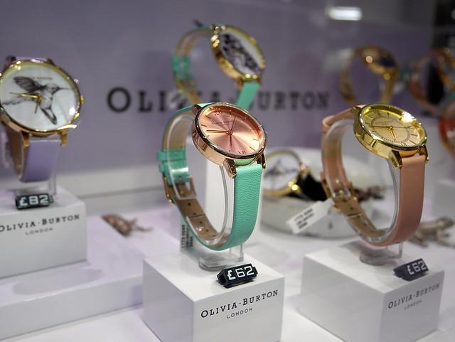 Olivia Burton watches launch event Goldsmiths boutique