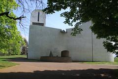 Chapelle Notre Dame du Haut in Ronchamp