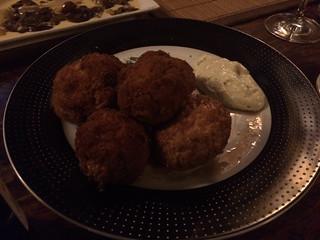 Pollo Loco - Champiñones africanos con salsa tártara