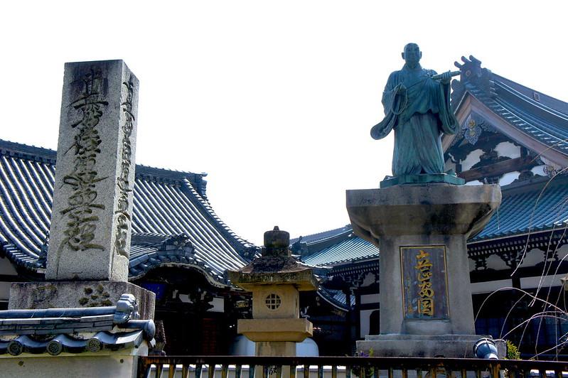 日蓮大聖人像/妙傳寺(Myoden-ji Temple / Kyoto City) 2015/03/17 04818