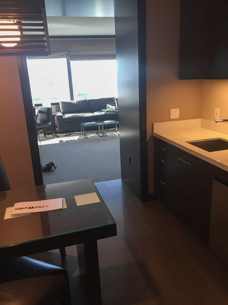 Kitchenette in Deluxe Suite Vdara