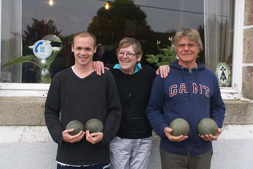 14/05/2015 - Kerlanguis (Kermouster en Plougasnou) : Les finalistes du concours en tête-à-tête