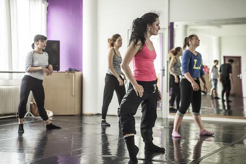 Adéla Judasová - Contemporary a Jazzdance - workshop