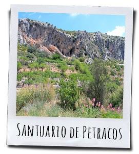 De eeuwenoude rotsschilderingen van het Santuario de Petracos