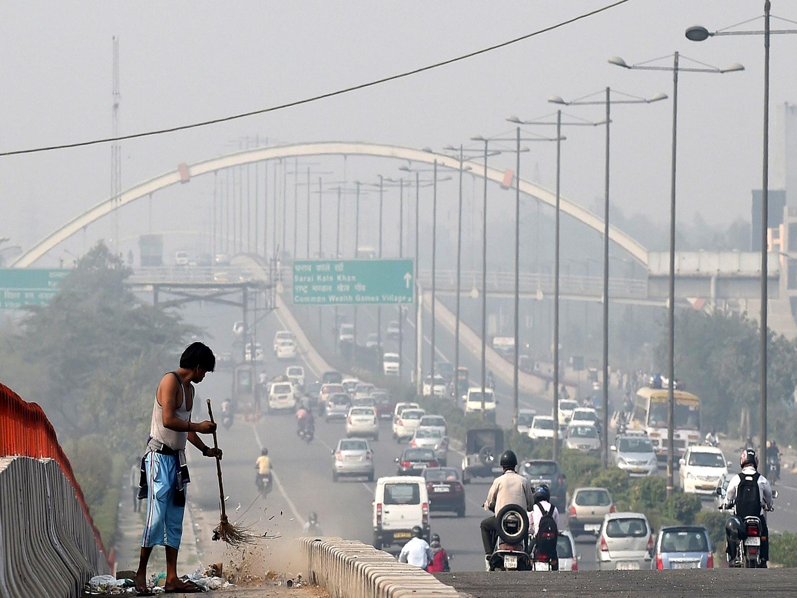 दिल्ली में जानलेवा हो रहा है स्मॉग