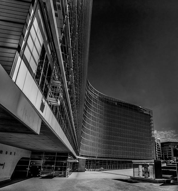 Berlaymont Building, Brussels.