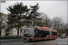 Iveco Bus Créalis 18 GNC - Setram (Société d'Économie Mixte des TRansports en commun de l'Agglomération Mancelle) n°303 - Photo of Souligné-Flacé