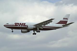 DHL (European Air Transport - EAT)  Airbus A300B4-203(F) OO-DLG