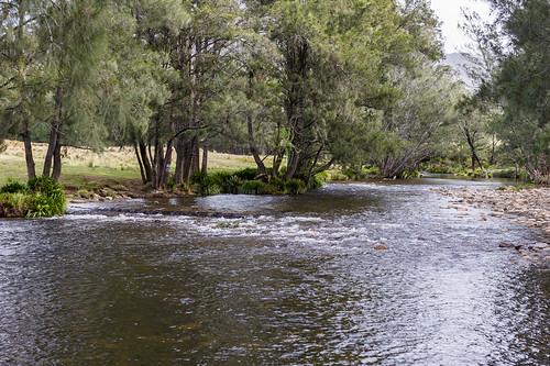 Barrington River at Barrington Tops Road crossing