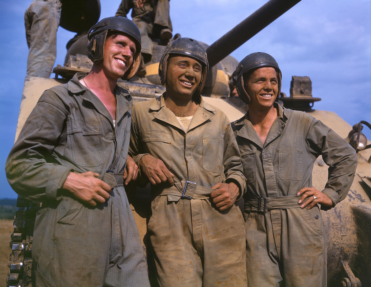 M-4 tank crews of the United States, Ft. Knox, KY, 1942