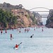 Corinth Canal SUP Crossing