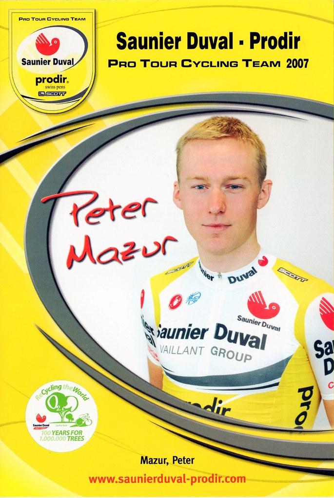 Peter Mazur - Saunier Duval Prodir 2007