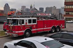 Baltimore City Fire Department Truck 21
