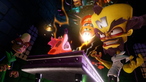 Crash Bandicoot N Sane Trilogy, Cinematic