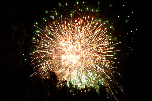 Fireworks in Bendigo