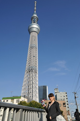After Japan trip 2011 - day 2. Tokyo - Tokyo Sky Tree.
