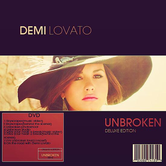 Demi Lovato-Unbroken(deluxe edition)