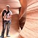 Me in Antelope Canyon by Seth Christie