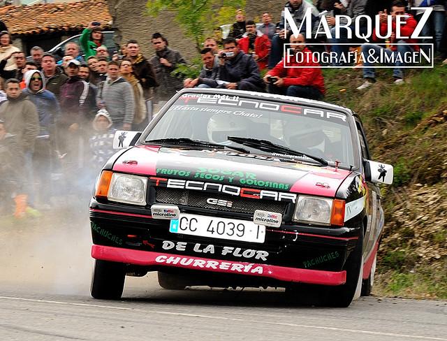 XXVII Rallye Norte de Extremadura.