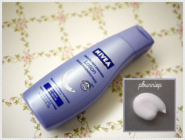Nivea body lotion