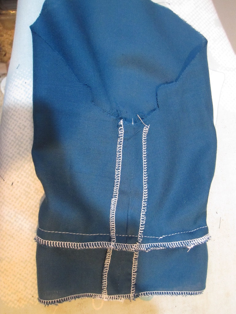 Stitch Hem Facing to Lower Edge