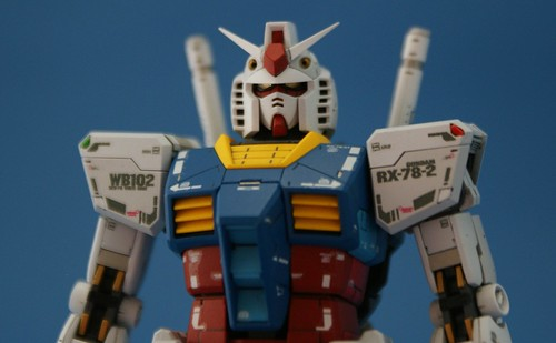 Real Grade 1/144 - RX-78-2 GUNDAM - Completed 6