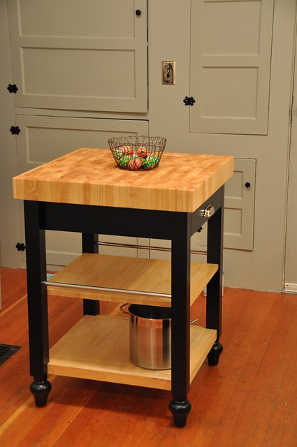 Small Sized Kitchen Island Cart Makeover