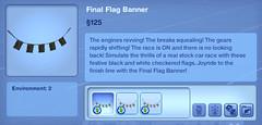 Final Flag Banner