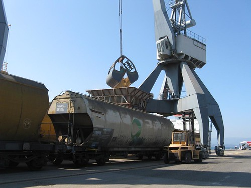 COMSA extends the rail link from the Port of Vilagarcía (Pontevedra)