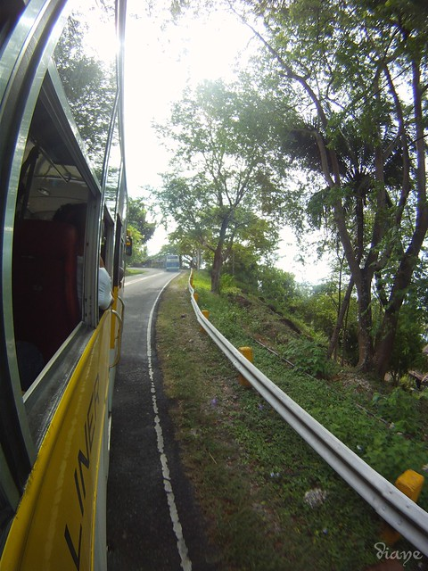 On the bus back to Alcoy from Oslob, Cebu