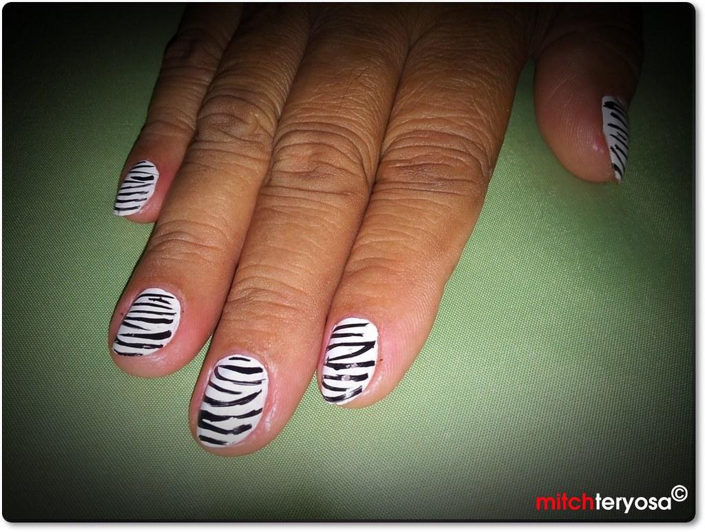 Mom's nail art