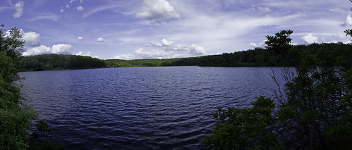 Appalachian Trail @ Sunfish Pond Columbia, NJ (Panoramic)