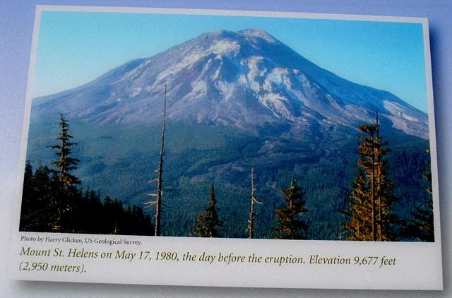 Mt. St. Helens before eruption