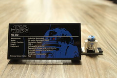 Plaque & R2-D2 Minifigure