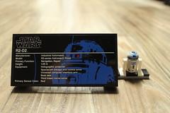 Plaque & R2-D2 Minifigure