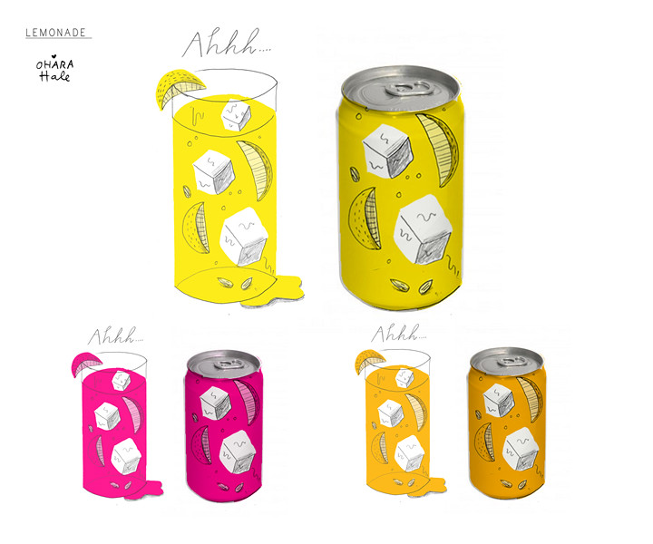 LEMONADE CAN DESIGN