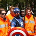 Captain America and cast #1