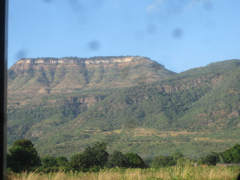 Butte in Malawi Africa