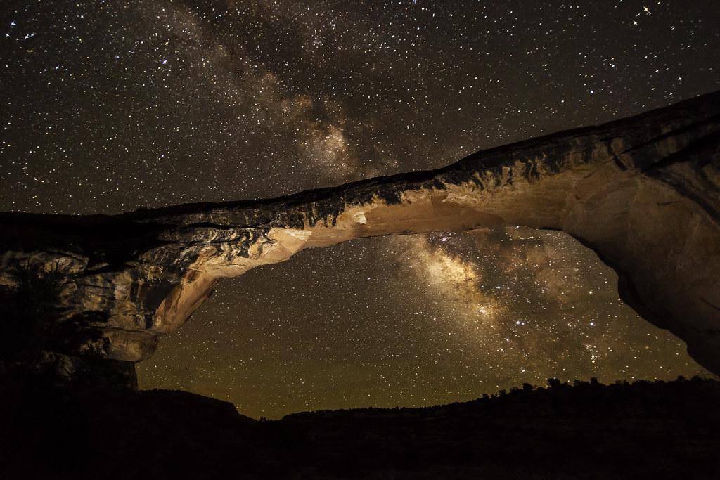 Owachomo with Milky Way