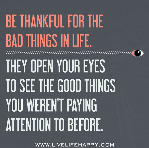 When Things Look Bad Quotes: Photo