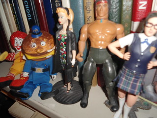 Ronald McDonald, Officer Big Mac, Vintage Barbie, Rambo and Mary Catherine Galligaher of SNL